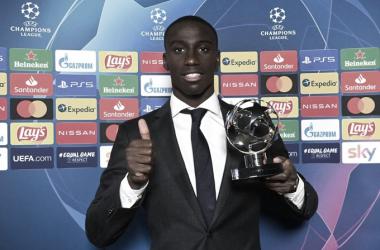 Mendy marca su primer gol en UEFA Champions League y es MVP