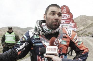 Meo, el mejor del día   Foto: Rally Dakar