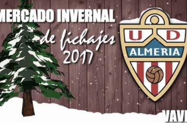 Fichajes de la UD Almería, mercado de invierno 2017