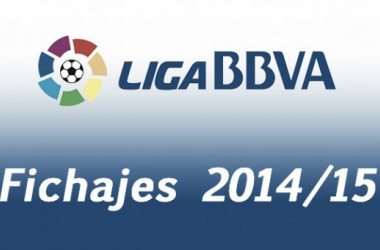 Resultado Mercado invernal de fichajes Liga BBVA 2014/2015