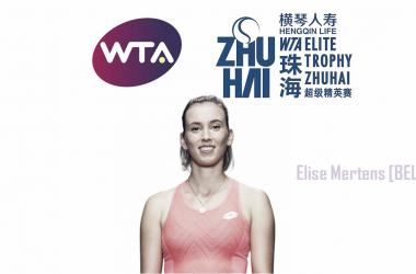 Elise Mertens is the highest seed in her group | Edit: Don Han