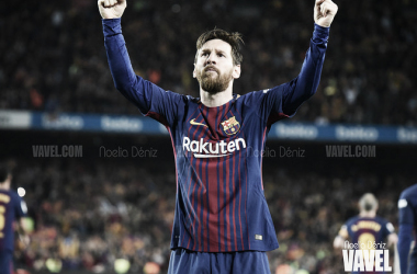 Messi, ante el Real Madrid | Foto: Noelia Déniz (VAVEL)