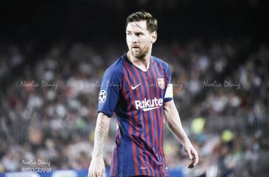 Foto de archivo de Messi esta temporada | Foto: Noelia Déniz (VAVEL)