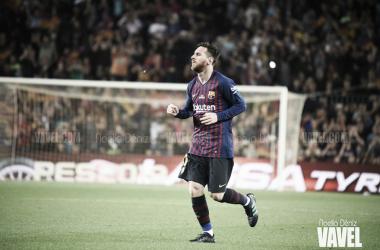 Messi en el terreno de juego   Foto: Noelia Déniz, VAVEL