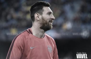 El jugador argentino compareció en rueda de prensa por primera vez desde 2015 / Foto: Noelia Déniz (VAVEL.com)