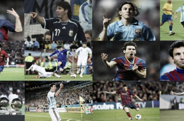 12 fotos. 12 años de fútbol. 12 años de magia   Fotomontaje: Huaman Sosa