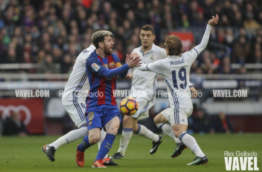 Real Madrid and Barcelona tie 1-1 in first El Clasico of the campaign. | Photo: Alex Gallardo/VAVEL Espana