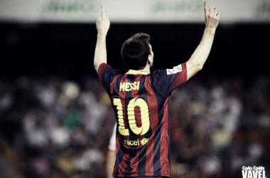 Messi: The little genius is back in action for the biggest game of the season so far.