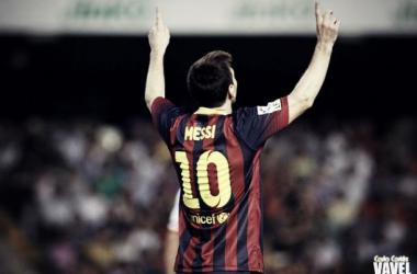 Riazor, talismán para Leo Messi