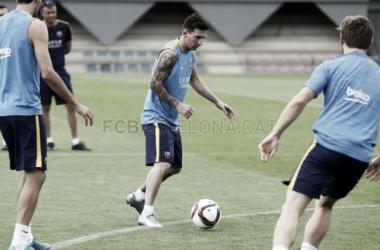 Último test antes de la ida de la Supercopa de España