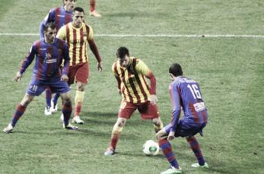 Levante - Barcelona: puntuaciones del Levante, cuartos de final