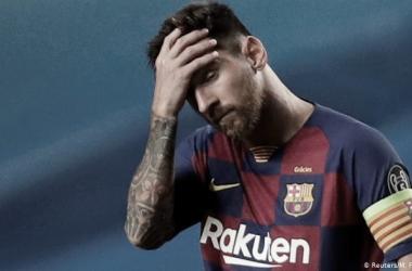 FIN DE UNA ERA. Messi, no seguirá ligado al Barcelona y es un dolor de cabeza en el ámbito futbolero. Foto: Web