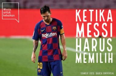Setiap Keputusan Lionel Messi Memiliki Risikonya Sendiri