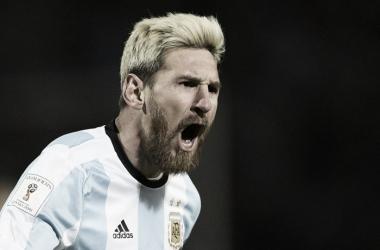 Volvió el Rey del fútbol. Volvió Messi | Foto: Twitter