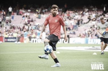 """<font style=""""vertical-align: inherit;""""><font style=""""vertical-align: inherit;"""">Leo Messi, con nuevos retos en el horizonte. FOTO: Noelia Déniz</font></font>"""