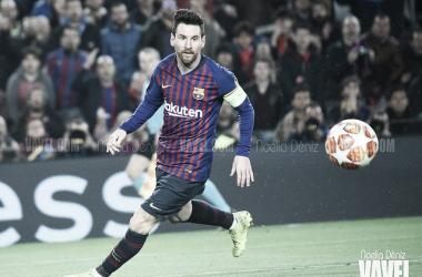 Messi tiene más cerca que nunca el récord de máximo goleador en un mismo club que atesora actualmente Pelé / Foto: Noelia Déniz( Vavel España)
