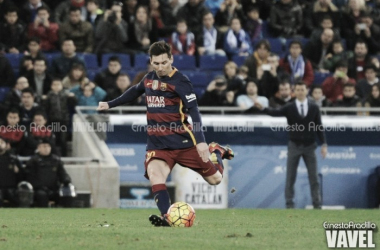 El Barça acumula 16 disparos a los palos