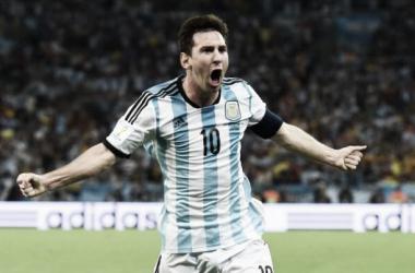 Lionel Messi vistiendo una vez más la camiseta de la Selección. | Foto: web