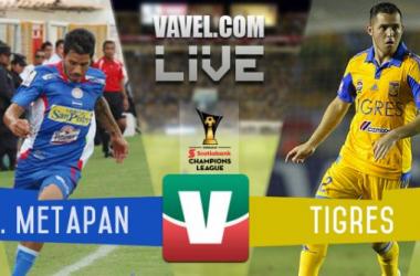 Resultado Isidro Metapán - Tigres en Concachampions 2015 (1-2)