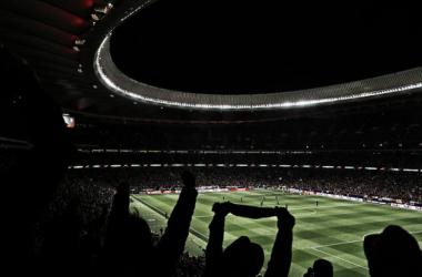 Ambiente formidable en el Metropolitano   Atlético de Madrid
