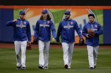 The Mets were the best story in baseball in 2015. But what will their story consist of in 2016?(AP)