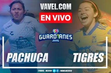 Goles y resumen: Pachuca Femenil 1-2 Tigres Femenil en Liguilla Guard1anes 2020