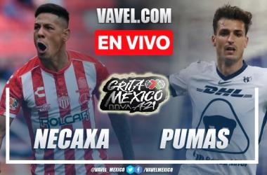 Goles y resumen del Necaxa 3-0 Pumas UNAM en Liga MX 2021