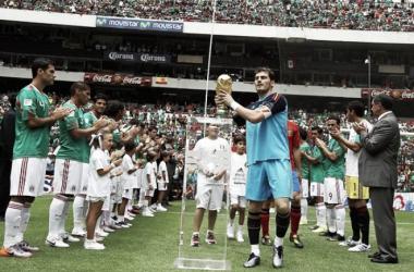 México y su historial ante los Campeones del Mundo
