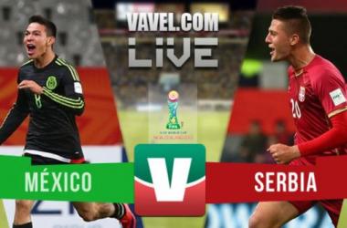 Resultado México - Serbia en Mundial Sub-20 2015 (0-2)