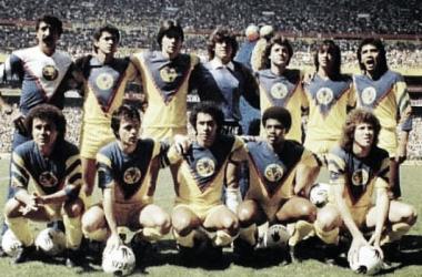 Las 'Aguilas' del América ganarían 5 títulos de liga en los años ochenta (Foto: segundotiempo.hol.es)