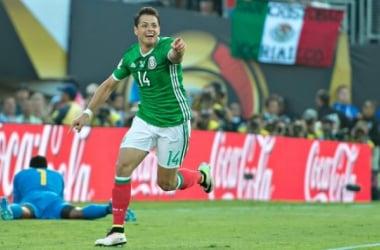 México bate Jamaica e avança às quartas de final (Foto: Reprodução/Twitter)
