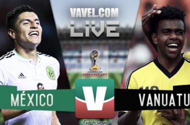 Resultado México 3-2 Vanuatu en el Mundial de Corea Sub 20