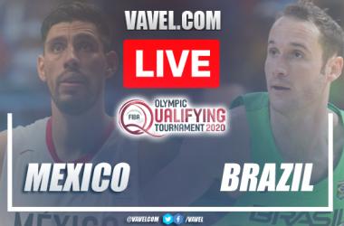 Destaques do Brasil 102-74 México na FIBA 2021 Semi-Final Pré-Olímpica