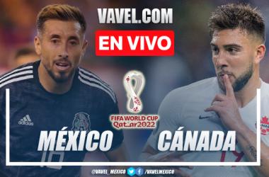 Goles y resumen del México 1-1 Canadá en Eliminatorias CONCACAF 2021