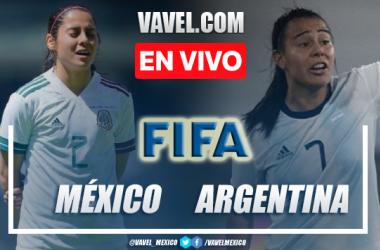 Goles y resumen del México Femenil 6-1 Argentina Femenil en partido amistoso 2021