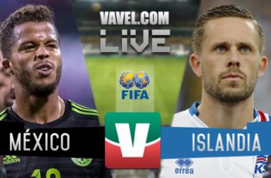 Resultados y goles del México 3-0 Islandia