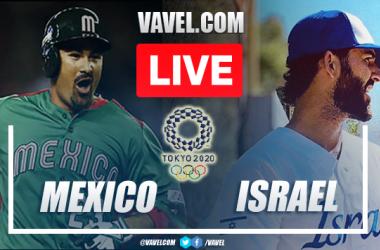 Runs and Highlights: Mexico 5-12 Israel in Olympic Baseball Tokyo 2020