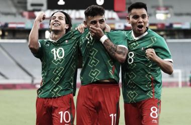 México sub-23 en los Juegos Olímpicos // Fuente: Selección de México