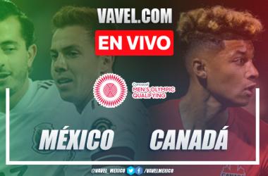 Goles y Resumen: México 2-0 Canadá en Preolímpico de CONCACAF