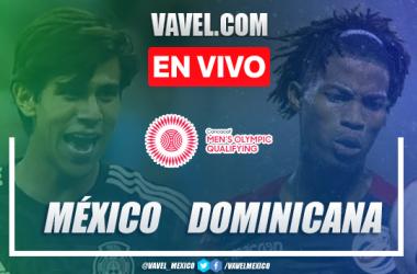 Goles y resumen del México 4-1 República Dominicana en Preolímpico 2021