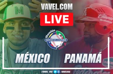 Resumen y Carreras: México 6 - 3 Panamá en Serie del Caribe 2021