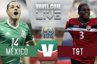 Resultado y goles del Trinidad y Tobago México (0-1) en Hexagonal Final 2017