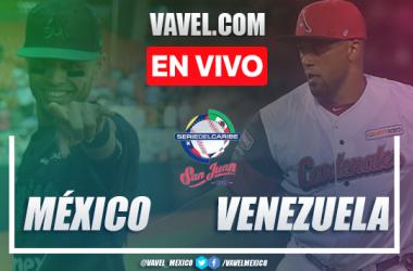 Resumen y carreras: México 7 - 6 Venezuela en Juego 4 Serie del Caribe 2020