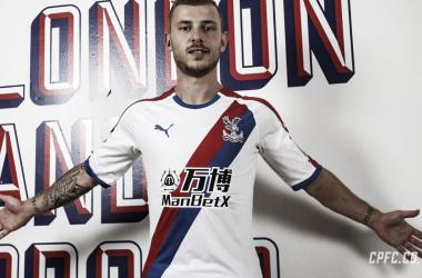 Meyer llega para hacerse un nombre en Europa. Fuente: Crystal Palace.
