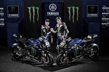 Maverick Viñales y Valentino Rossi. Foto: Monster Energy Yamaha
