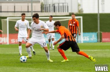 Fotos e imágenes del Real Madrid Juvenil - Shakhtar Donetsk, fase grupos Uefa Youth League