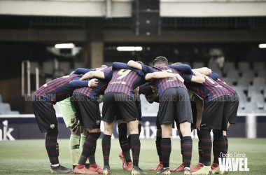Resumen FC Barcelona 3-2 Olympique Lyonnais en UEFA Youth League 18/19