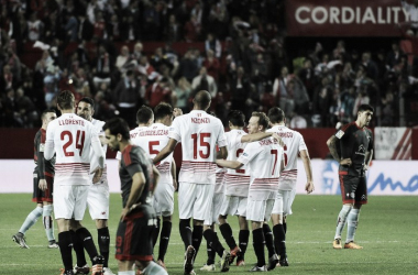Sevilla come into this game with a four goal lead. | Photo: Sevilla FC
