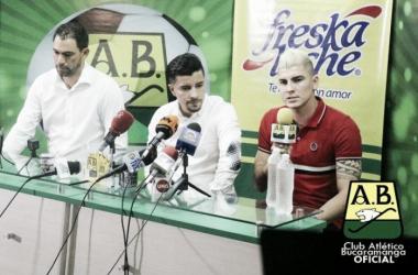 Michael Rangel llega proveniente del fútbol de Turquía.Foto: Departamento de Comunicaciones del Atlético Bucaramanga