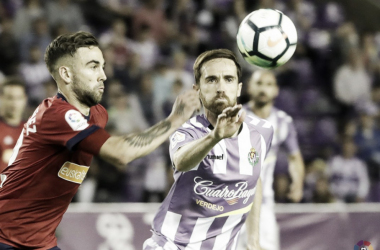 Míchel no jugará ante el Sporting // FUENTE: Real Valladolid C.F.